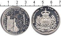 Изображение Монеты Сан-Марино 10.000 лир 1996 Серебро Proof- Евро