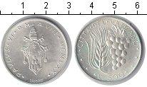 Изображение Монеты Ватикан 500 лир 1970 Серебро UNC- Пий XI.