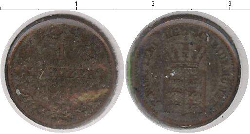 Картинка Монеты Вюртемберг 1 крейцер Серебро 1871