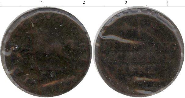 Картинка Монеты Брауншвайг-Вольфенбюттель 1 пфенниг Медь 1817