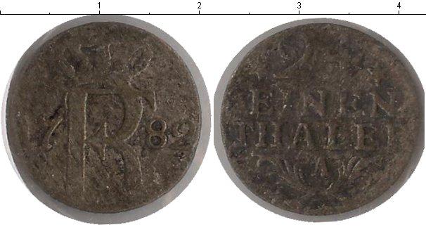 Картинка Монеты Пруссия 1/24 талера Серебро 1782