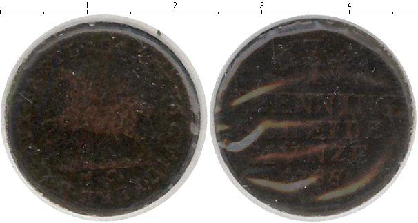 Картинка Монеты Брауншвайг-Вольфенбюттель 1 пфенниг Медь 1788