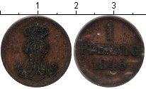 Изображение Монеты Ганновер 1 пфенниг 1846 Медь  B