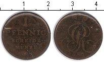 Изображение Монеты Ганновер 1 пфенниг 1830 Медь  C