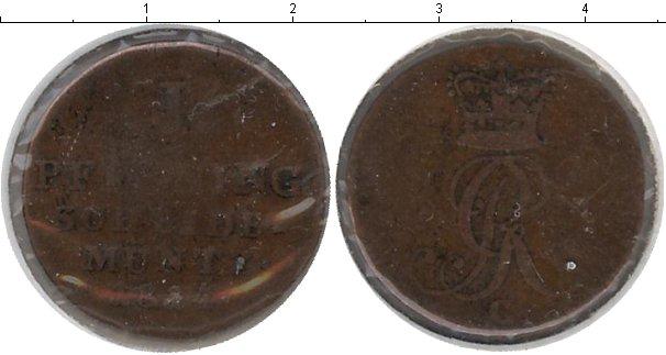 Картинка Монеты Ганновер 1 пфенниг Медь 1824