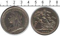 Изображение Монеты Великобритания 1 крона 1894 Серебро VF