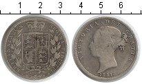 Изображение Монеты Великобритания 1/2 кроны 1881 Серебро  Виктория