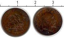 Изображение Монеты Великобритания 1 фартинг 0 Медь VF Эдвард VII  токен