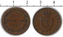 Изображение Монеты Нассау 1 крейцер 1838 Медь