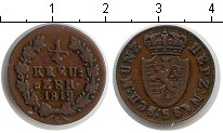Изображение Монеты Нассау 1/4 крейцера 1819 Медь