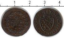 Изображение Монеты Нассау 1/4 крейцера 1818 Медь