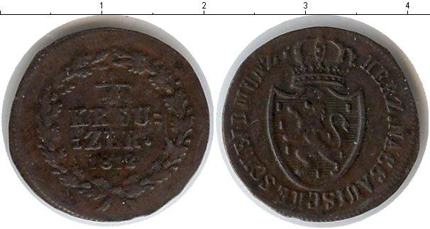 Картинка Монеты Нассау 1/4 крейцера Медь 1818