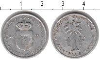 Изображение Мелочь Руанда 1 франк 1959 Алюминий VF Бельгийский протекто