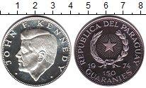 Изображение Монеты Парагвай 150 гуарани 1974 Серебро Proof- Джон Кеннеди