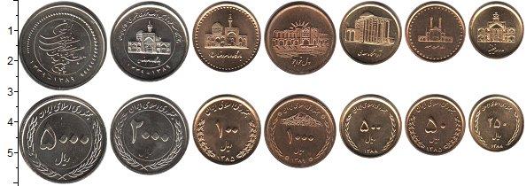 Изображение Наборы монет Иран Иран 1385-1389 0  UNC-