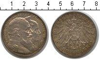 Изображение Монеты Германия Баден 5 марок 1906 Серебро XF