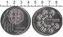 Изображение Мелочь Португалия 1 1/2 евро 2010 Медно-никель UNC-