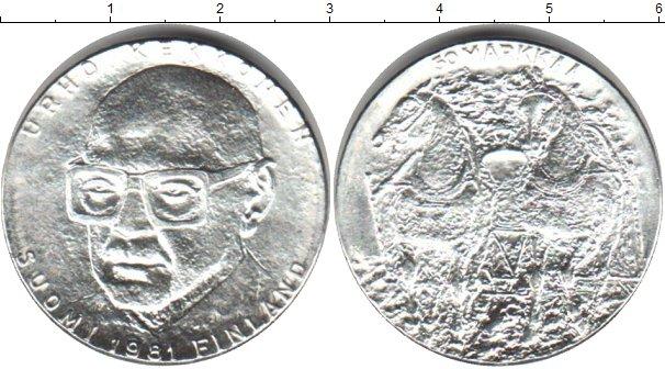 Картинка Монеты Финляндия 50 марок Серебро 1981