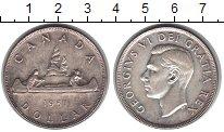Изображение Монеты Канада 1 доллар 1951 Серебро XF Георг VI