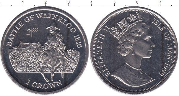 Картинка Мелочь Остров Мэн 1 крона Медно-никель 1999