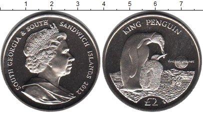 Картинка Мелочь Сендвичевы острова 2 фунта Медно-никель 2012