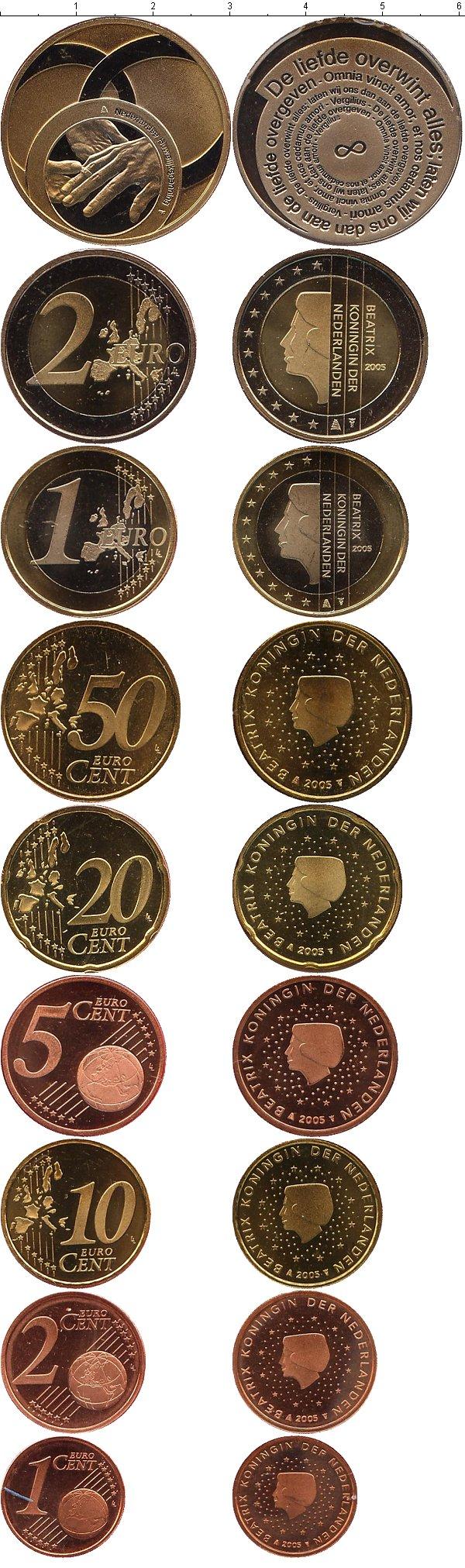 Картинка Подарочные наборы Нидерланды Свадебный евронабор  2005