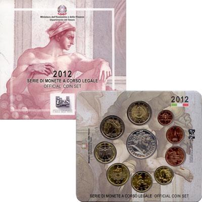 Изображение Подарочные монеты Италия Сикстинская Капелла 2012  UNC