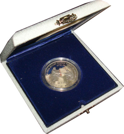 Изображение Подарочные наборы Ватикан Иоанн Павел 2003 Серебро Proof Подарочная монета по