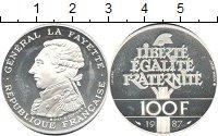 Картинка Монеты Франция 100 франков Серебро 1987