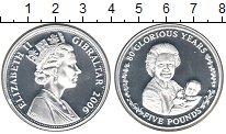 Изображение Монеты Гибралтар 5 фунтов 2006 Серебро Proof- Елизавета II