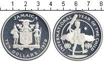 Изображение Монеты Ямайка 10 долларов 1979 Серебро Proof