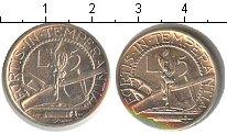 Изображение Монеты Сан-Марино 5 лир 1937 Серебро XF