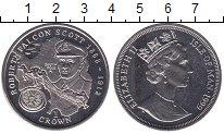 Изображение Мелочь Остров Мэн 1 крона 1999   Елизавета II
