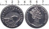 Изображение Мелочь Остров Мэн 1 крона 1996   Елизавета II