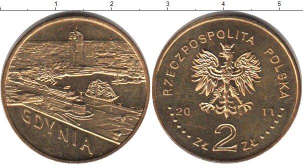 Картинка Мелочь Польша 2 злотых Медно-никель 2011