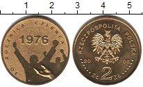 Изображение Мелочь Польша 2 злотых 2006 Медно-никель UNC- 30 лет Июнь 1976г
