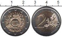 Изображение Мелочь Словакия 2 евро 2012 Биметалл UNC-