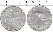 Изображение Монеты США 1 доллар 1996 Серебро UNC- Атланта 1996