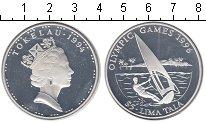 Изображение Монеты Токелау 5 тала 1996 Серебро Proof- Елизавета II
