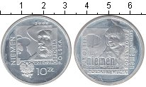 Изображение Монеты Польша 10 злотых 2009 Серебро Proof Чеслав Немен