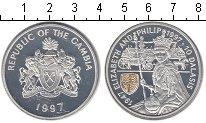 Изображение Монеты Гамбия 10 даласи 1997 Серебро Proof- Елизавета II