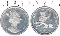 Изображение Монеты Великобритания Гибралтар 1 крона 1999 Серебро Proof-