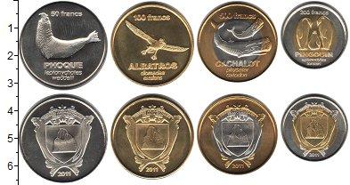 Изображение Наборы монет Антарктика - Французские территории Антарктика - Французские территории 2011 2011  UNC- В наборе 4 монеты но