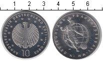 Изображение Монеты Германия 10 евро 2011 Медно-никель UNC ФИФА. Чемпионат мира