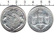 Изображение Монеты Сан-Марино 5 евро 2007 Серебро UNC-