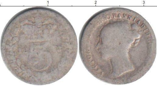 Картинка Монеты Великобритания 3 пенса Серебро 0