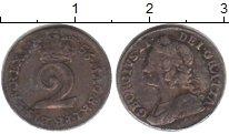 Изображение Монеты Великобритания 2 пенса 1756 Серебро XF Георг II. KM# 568