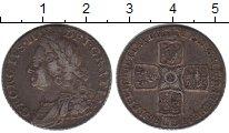 Изображение Монеты Великобритания 1 шиллинг 1758 Серебро VF Георг II. KM# 583.3