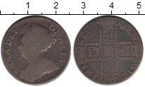 Изображение Монеты Великобритания 1 шиллинг 1709 Серебро  Анна. KM# 523.1