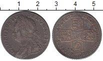 Изображение Монеты Великобритания 1 шиллинг 1758 Серебро XF Георг II. KM# 583.3
